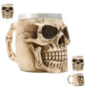 Кружка Nemesis Now Skeleton Face Resin Mug