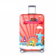 Чехол для чемодана Travelkin It's My Tourism Time