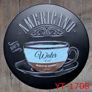 """Декоративная табличка """"Americano"""", фото 1"""