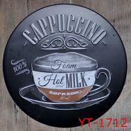 """Декоративная табличка """"Cappucino"""", фото 1"""