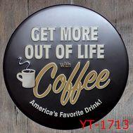 "Декоративная табличка ""Coffee"", фото 1"