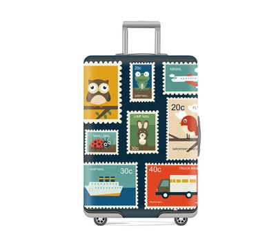 Чехол для чемодана Post Card