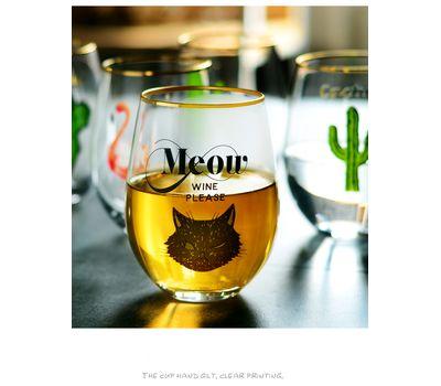 "Оригинальный бокал для вина""Meow Wine Please"", фото 2"