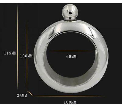 Фляга-браслет для ликера и не только