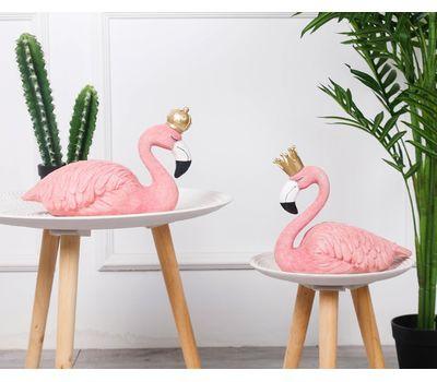 """Набор декоративных фигурок """"Фламинго: Король и Королева"""", фото 3"""