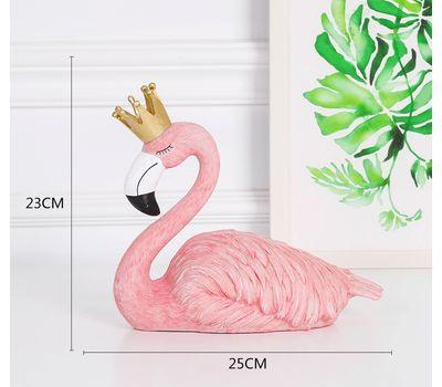 """Набор декоративных фигурок """"Фламинго: Король и Королева"""", фото 5"""