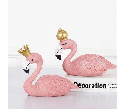 """Набор декоративных фигурок """"Фламинго: Король и Королева"""", фото 2"""