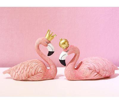"""Набор декоративных фигурок """"Фламинго: Король и Королева"""", фото 4"""